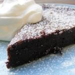 Липкий шоколадный торт (Kladdkaka)