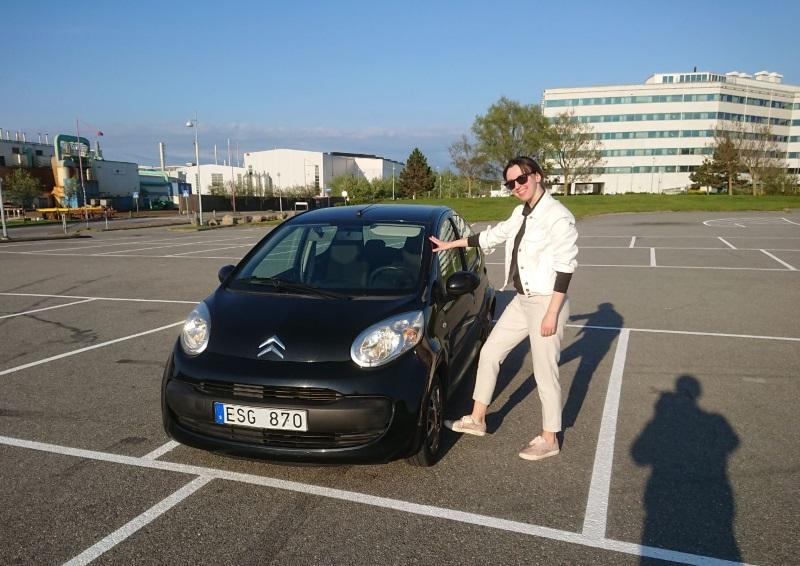 водительские права в швеции
