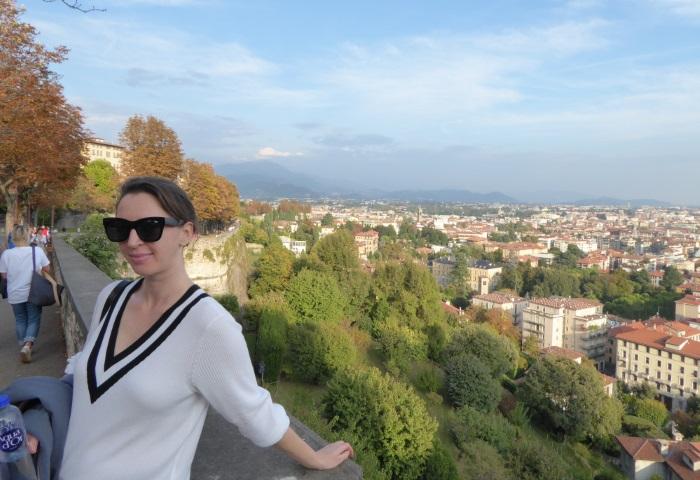 Бергамо в октябре